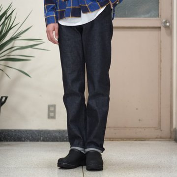 【2017 SS】7 × 7 / seven by seven ( セブン バイ セブン )  DENIM TROUSERS - INDIGO -  #SS2017-DTR