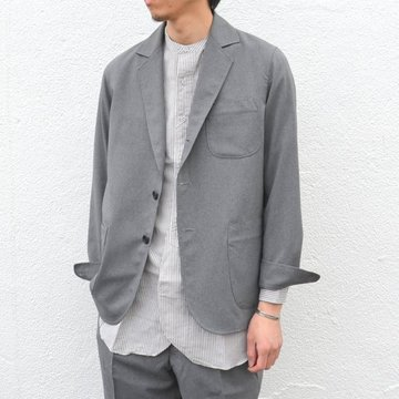 【40% off sale】MOJITO(モヒート)/ RITS JACKET Bar.2.1 -(19)GRAY- #2071-2202