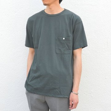 Honor gathering(オナーギャザリング) Over classic pocket T -urban grenn- #17SS-T01