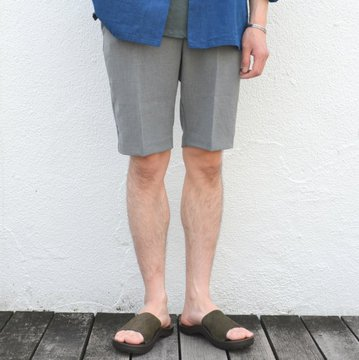 FLISTFIA(フリストフィア)/ Short Trousers -Charcoal Gray- #ST01016