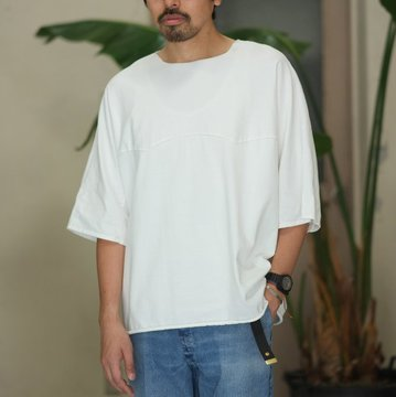 WESTOVERALLS( ウエストオーバーオールズ )  WEST'S W-SHIRTS - WHITE -  #17SWTS0