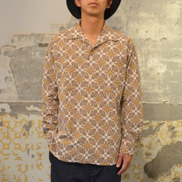 【40% OFF SALE】 MOJITO(モヒート)/ ABSHINTH SHIRT Bar.2.0 -(01)WHITE- #2074-1102
