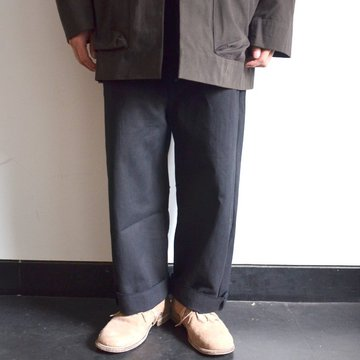toogood(トゥーグッド) / THE SCULPTOR TROUSER DYED CALICO HW -FLINT- #62034990