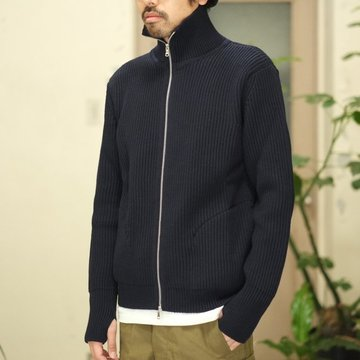 ANDERSEN-ANDERSEN(アンデルセン アンデルセン) THE NAVY - 1/1 ZIP with Pocket -NAVY BLUE- #AA1821003