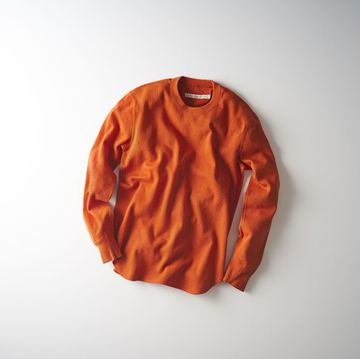 【30% off SALE】【17 AW】Curly(カーリー) NOMADIC LS TEE -2色展開(ORANGE。、WHITE)- #174-34111
