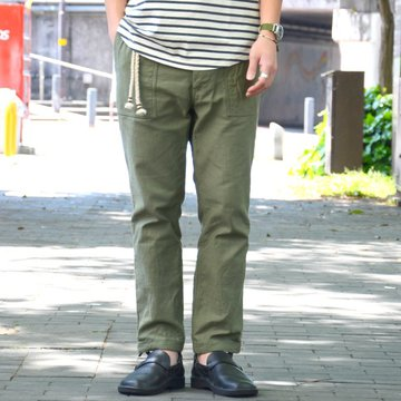 【40% OFF SALE】ohh!nisica(オオニシカ)/ ベイカーパンツ -OLIVE- #ONI-079