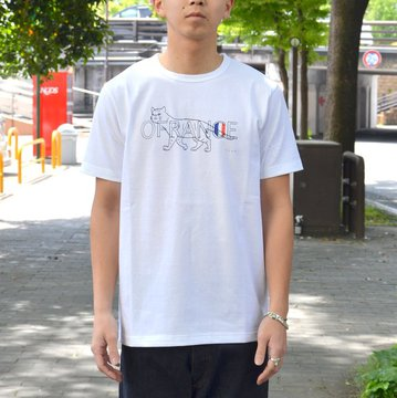 【2018 SS】 EEL products(イ—ルプロダクツ)/ OFRANCE x 小池アミイゴ -(11)WHITE- #E-18533
