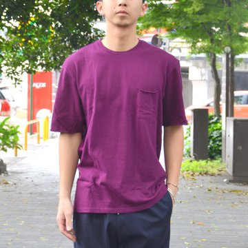 【40% OFF SALE】FLISTFIA(フリストフィア) / Relaxed T-shirts -Dark Burgundy- #TR01016
