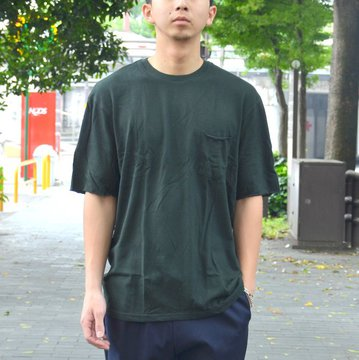 【40% OFF SALE】FLISTFIA(フリストフィア) / Relaxed T-shirts -Dark Green- #TR01016