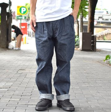 【2018 AW】 A VONTADE(ア ボンタージ) Mil. 2Tuck Trousers -INDIGO- #VTD-0390-PT