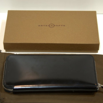 ARTS & CRAFTS(アーツ・アンド・クラフツ) CORDOVAN ACC / ROUND-ZIP LONG WALLET 12016011100