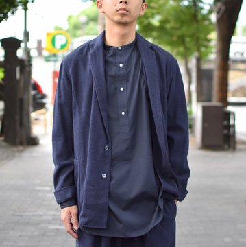 【30% OFF SALE】 tim.(ティム)/ SHIRT JACKET -(35)NAVY- #8303-0003