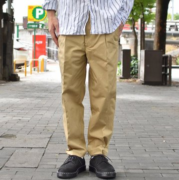 【40% OFF SALE】 MOJITO(モヒート)/ GULF STREAM PANTS Bar.12.1 -(23)BEIGE- #2085-1401