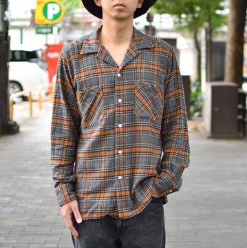 【40% OFF SALE】 MOJITO(モヒート)/ ABSHINTH SHIRT Bar.2.0 -(59)CHECK- #2085-1107