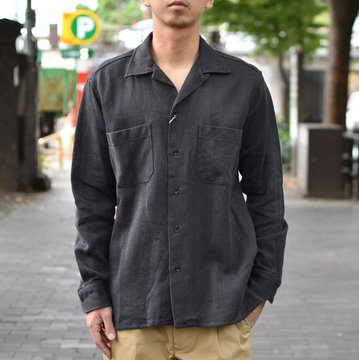 【40% OFF SALE】 MOJITO(モヒート)/ ABSHINTH SHIRT Bar.2.0 -(19)GRAY- #2085-1110