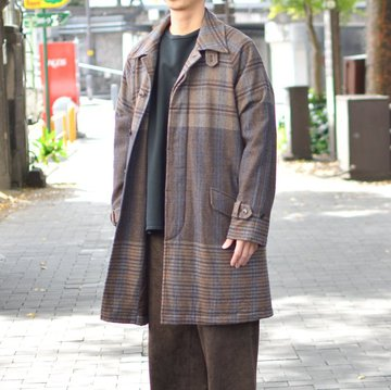 【30% OFF SALE】 ts(s) (ティーエスエス) Bold Delicate Fabric -BROWN- #TT39GC03