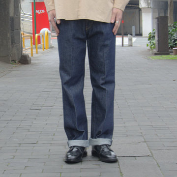 【19 SS】 AURALEE(オーラリー)/ HARD TWIST DENIM 5P PANTS-INDIGO #A9SP01DM