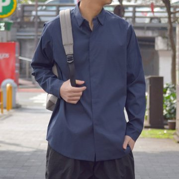 【19 SS】 TEATORA(テアトラ)/Keyboard Shirt -NAVY- #TT-SHT-001-KEY