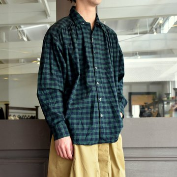 【2019 SS】AiE(エーアイイー) PAINTER SHIRT-TARTAN CHECK #EJ488A