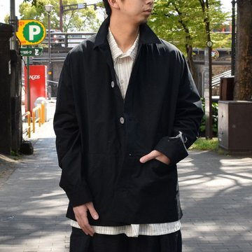【2019 SS】 too good(トゥーグッド) / THE ENGINEER JACKET PLAIN COTTON -FLINT-