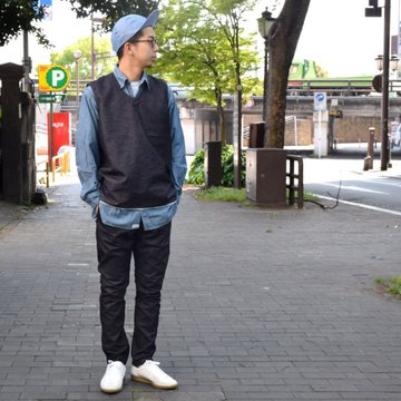 【2019 SS】BROWN by 2-tacs (ブラウンバイツータックス) ALMIGHTY -Indigo- #B21-V001