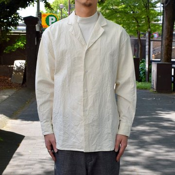 【30% off sale 】un unbient /Zak Cotton Tailored -WHITE-#UNSSH1919-2