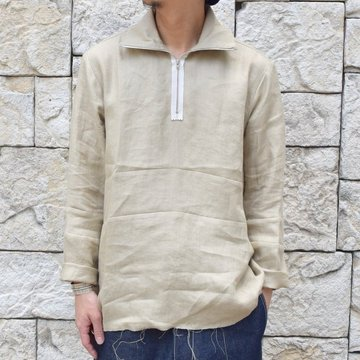 【30% off sale 】 CAMIEL FORTGENS(カミエル フォートゲンス)/POLO TRACK SHIRT -SAND-