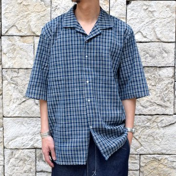 【30% off sale 】 CAMIEL FORTGENS(カミエル フォートゲンス)/SCHOOL SHIRT -SAND-