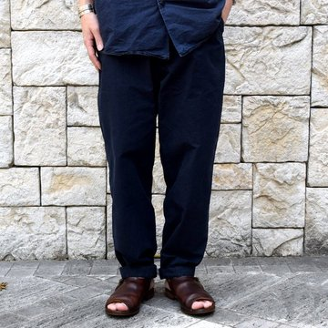 【2019 SS】 CASEY CASEY(ケーシーケーシー)/AH PANT-Dark Navy- #12HP143