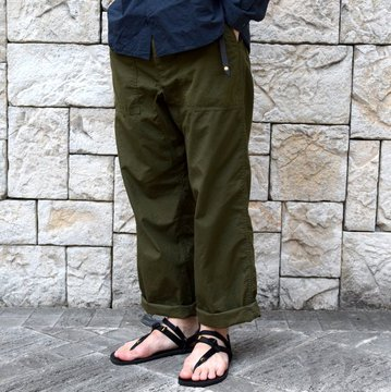 【2019 SS】YAECA (ヤエカ)/ LIKE WEAR BAKER PANTS -OLIVE-#29603OLP