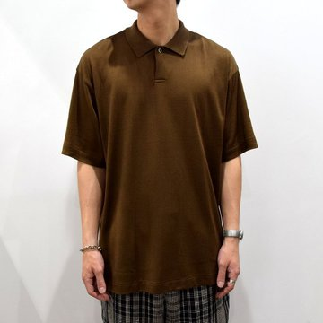 【2019 SS】 MARKAWARE(マーカウェア)/SPUN SILK SWITZER CIACULAR KNIT -3色展開-#A19A-31CS02B