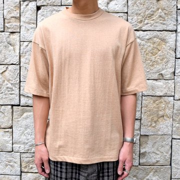 【2019 SS】 MARKAWARE(マーカウェア)/ ONESIDE RAGLAN TEE -NATURAL BROWN-#A19A-07CS01B