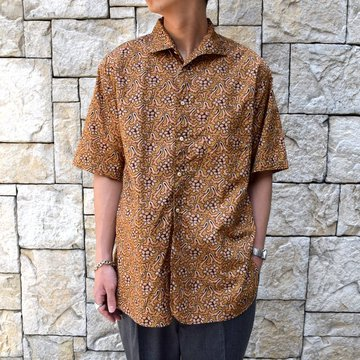 【30% off sale 】KAPTAIN SUNSHINE (キャプテンサンシャイン)/ Italian Collar Summer Shirt -SAND BEIGE-#KS9SSH09
