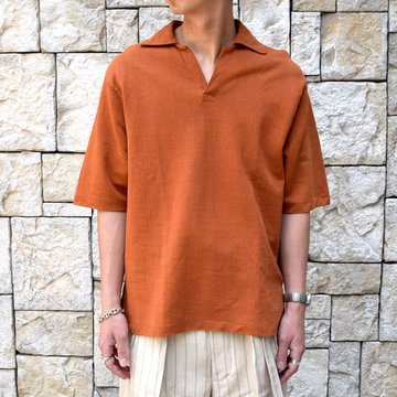 【30% off sale 】KAPTAIN SUNSHINE (キャプテンサンシャイン)/ SKIPPER SHIRT  -RUST-#KS9SCS09