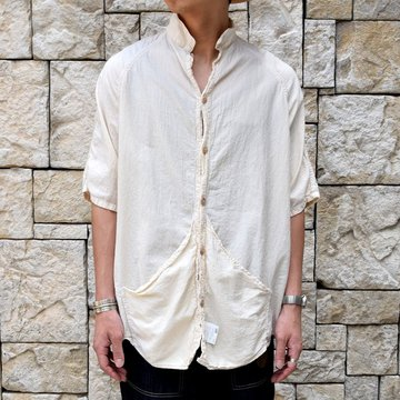 TENDER Co.(テンダー)Type433 SHORT SLEEVE RAGLAN WALLABY SHIRT -