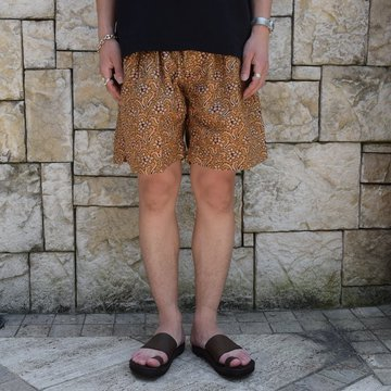 【30% off sale 】KAPTAIN SUNSHINE (キャプテンサンシャイン)/Athletic Wide Shorts -Sand Beige- #KS9SPT15