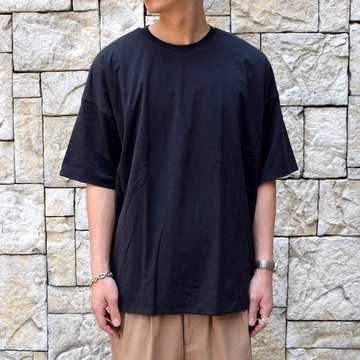 【2019 SS】AURALEE(オーラリー)/ HIGH GAUGE DOUBLE CLOTH TEE -2色展開- #A00T01DC