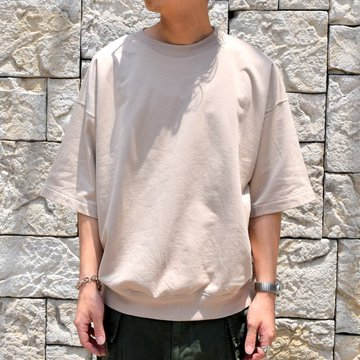 【2019 SS】AURALEE(オーラリー)/  SUPER HIGH GAUGE SWEAT BIG TEE -2色展開- #A9ST02NU