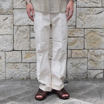 【19 SS】 AURALEE(オーラリー)/ HARD TWIST DENIM 5P PANTS-WHITE #A9AP01DM