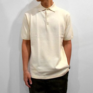 ANDERSEN-ANDERSEN(アンデルセン アンデルセン) /POLO SHORT-RAW COTTON-#AA1911003