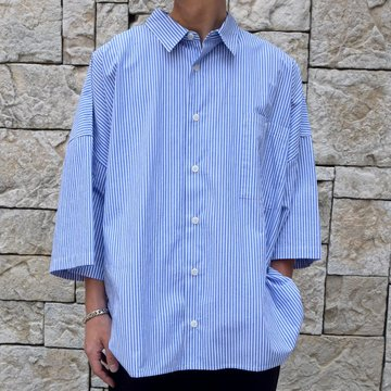whowhat(フーワット)/5XL SHIRTS -STRIPE-