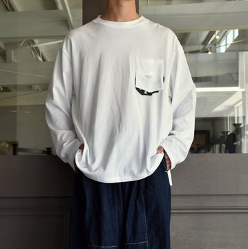 TODAY editon (トゥデイエディション) PEACE #19-TEE-1 WHITE,BLACK