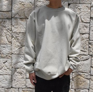 【2019 AW】 AURALEE(オーラリー) SUPER MILLED SWEAT P/O-PALE GREEN- A9AP02SM-GR