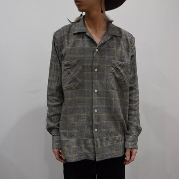 【2019 AW】 MOJITO(モヒート)/ ABSHINTH SHIRT Bar.2.0 -HOUNDS TOOTH (59)- #2094-1101