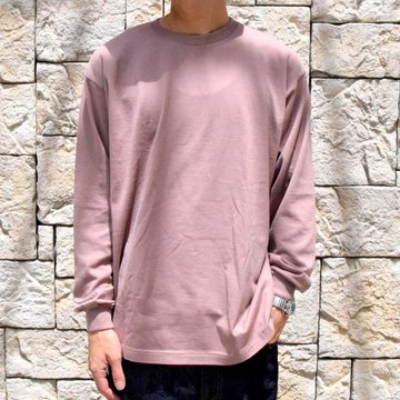 【2019 AW】 AURALEE(オーラリー)/ LUSTER PLAITING L/S TEE -LIGHT BROWN- #A9AP01GT