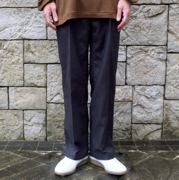 【2019 AW】blurhms(ブラームス) / SUPER SURGE SLACKS -CHARCOAL- #BHS-19AW011