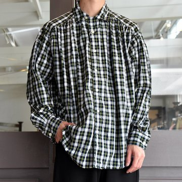 【2019 AW】AiE(エーアイイー) PAINTER SHIRT-POPLIN PLAID- FK466