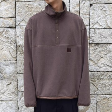 stein/シュタイン OVER SLEEVE SLASH FLEECE TOP ST095-BR