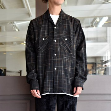 NEEDLES(ニードルス) CUT-OFF ONE-UP SHIRT-SPLAAS- #FK-188