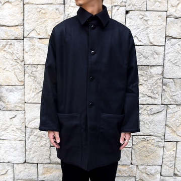 【2019 AW】 too good(トゥーグッド) / THE DOORMAN JACKET FELTED LAMBEWOOL HW -FLINT- #62033100